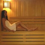 Сауна, баня. Финская баня. фото