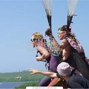 Отдых для семьи и корпорации полеты на параплане в Крыму фото