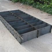 Форма высокоточная для изготовления пенобетонных и газобетонных блоков 600*300*400 фото