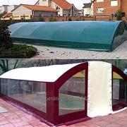 Накидка для бассейна, чехол на бассейн, укрытие для бассейна. фото