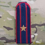 Погоны МВД майор на китель нового образца звезда латунь №11 фото