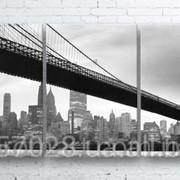 Модульна картина на полотні Міст код КМ100180-019 фото