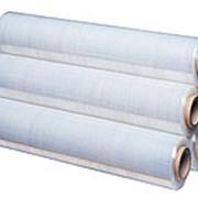 Стрейч пленка полиэтиленовая для ручной упаковки 17/20 мкм * 500 мм * 2,0 кг вторичный фото