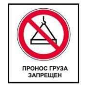 CT30 Пронос груза запрещен фото