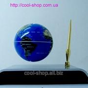 Подарок прикольный Летающий глобус на подставке фото