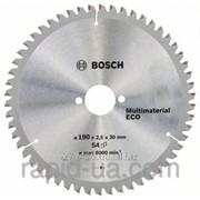 Пила дисковая по дереву Bosch 190x30x54z Multi ECO фото