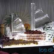 Лед пищевой кусковой фото