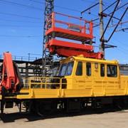 Ремонт автомотрисы АГВ модернизированый - для выполнения грузово-разгрузочных работ, строительства, монтажа, обслуживания и ремонта контактной сети и перевозки бригад рабочих к месту работы. фото