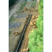Строительство магистральных газопроводов большого диаметра фото
