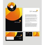 Фирменный стиль, логотип, слоган компании фото