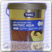Лак-антисептик на водной основе БиоТекс Aqua Профи Текс 2,7 л фото