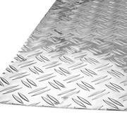 Лист алюминиевый риф.Квинтет 1,5x1250x2500 мм 1100(А0) фото