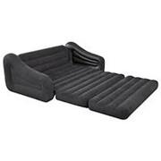 Надувной раскладывающийся диван Intex 68566 (193х231х71см) фото