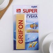 Губка автомобильная супервпитывающая Grifon из ПВА 1шт, 910-031 фото
