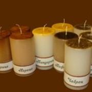 Свечи ароматические: 12060Н - Мандарина цедра фото