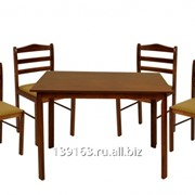 Комплект из стола и четырех стульев 3629/4729 фото