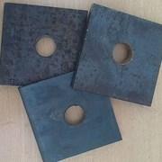 Анкерная плита для фундаментных болтов фото