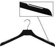 Вешалка плечики для одежды из пластика, ширина 420мм, цвет черный. MD-PLC 42-02 фото