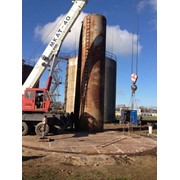 Демонтаж технологического оборудования на резервуаре нефтепродуктов, Демонтаж электроэнергетического оборудования фото