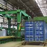 Ремонт сухогрузных контейнеров фото