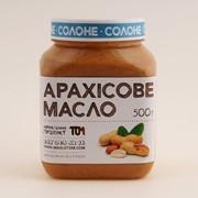 Арахісове масло ТОМ 500г солоне фото