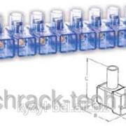 Колодка соединительная 2,5 мм² , колодка клеммная, клеммник фото
