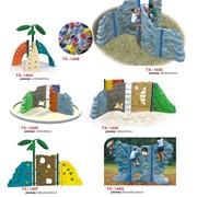Скалодром для детской площадки фото