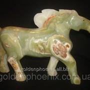 Статуэтка Лошадь оникс 12,00 дюймов фото