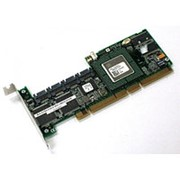 403633-001 Контроллер RAID SATA HP (Adaptec) AAR-2410SALP/64Mb 2xSil3512/Intel GC80303 64Mb 4xSATA RAID50 PCI/PCI-X фото