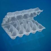 """Пластиковый контейнер для яиц П-15 """"Пятнашка"""" фото"""