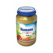 Пюре Humana 190г Овощи с рисом и индейкой (с 6мес) фото