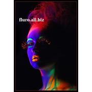 Краски самосветящиеся, люминисцентные для боди-арта тм FLURO фото