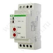 Ограничитель мощности F&F ОМ-3 однофазный, 0,5-5 кВт, на DIN-рейку, 230В фото