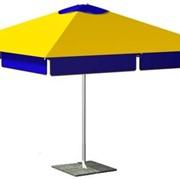 Зонт торговый 3х3 метра фото