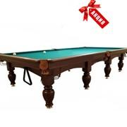 Бильярдный стол Леман Стандарт (12 футов). Украина. Купить, цена. фото