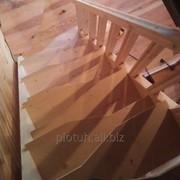 Лестницы из металла и дерева фото