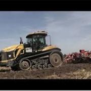 Вспашка, дискование, культивация почвы: Caterpillar MT865 + Gregoire Besson 7.2 фото