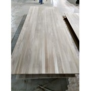 Мебельный щит цельноламельный из дуба сорт Рустик 40*100*1300 фото