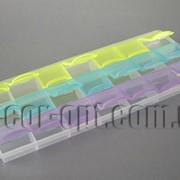 Контейнер - органайзер 21 ячейка 9,5х21,5см 103 фото