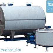 Емкости для охлаждения воды и молока фото