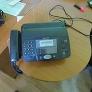 Факсимильный аппарат с телефонной трубкой, Факс Panasonic KX-FT914UA фото