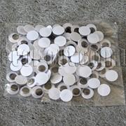 Глазки черно-белые 18 мм 50 шт. 4249 фото