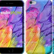 Чехол на iPhone 6 Разноцветные краски 2273c-45 фото