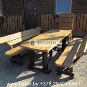 Мебель состаренная массив (дуб) фото