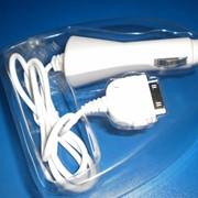 Устройства автомобильные зарядные Азу на i-phone фото