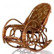 Кресло-качалка с подножкой Рамонь фото