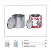 металлическая банка 2,4 литра с крышкой фото