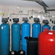 Монтаж, наладка и обслуживание систем фильтрации воды. фото