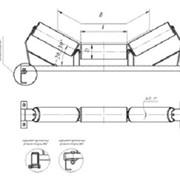 Роликоопора ЖГ 100-127-30 фото