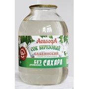 Сок березовый Славянский без сахара 3,0л фото